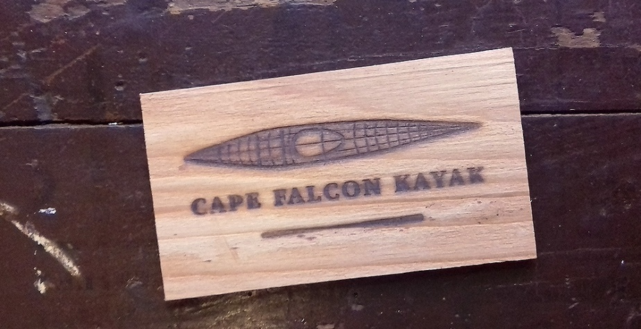 Cape Falcon Kayak Brand Design