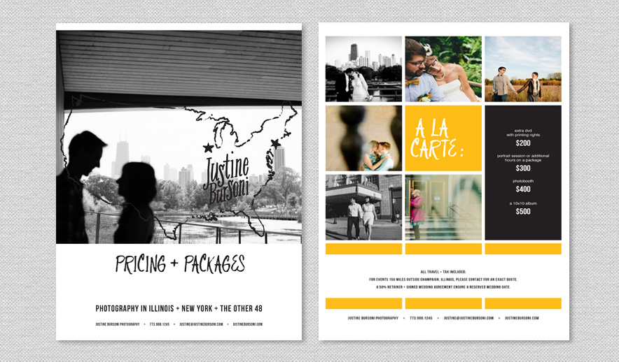Graphic design for photographers