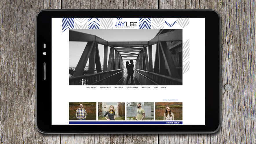 JayLee Photography Web Design