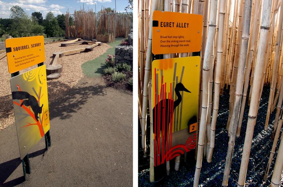 Wildlife Challenge Museum Exhibition Playground Graphic Design